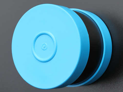 Small Plastic Drum 700gm Closed