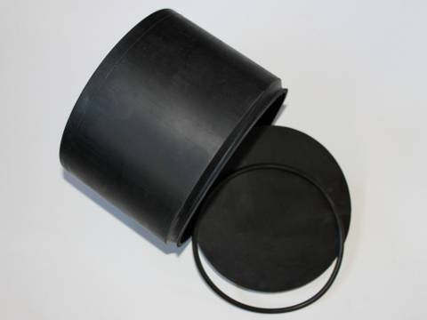 Kitiki Beach Lapidary 2000cc Rubber Drum.