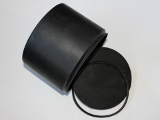 Kitiki Beach Industrial 2000cc Vaned Rubber Drum For Jewellery, Silver, Gold, And Metals