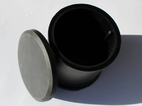 The Kitiki 1000gm Large Rubber Drum With Vanes